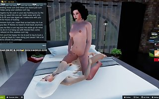 3D SHEMALES TALON AND SANAAS GETS SEX ADVENTURE PART 1
